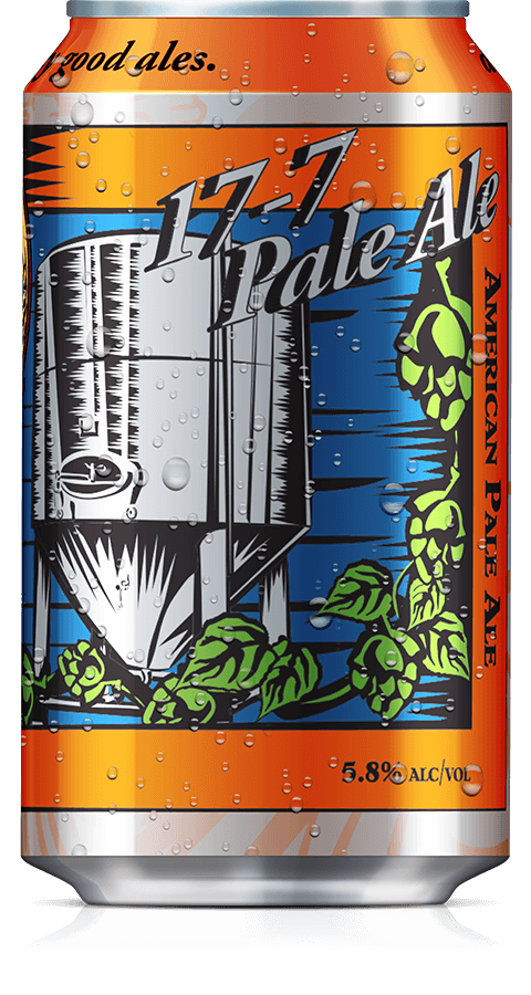 17-7 Pale Ale Can
