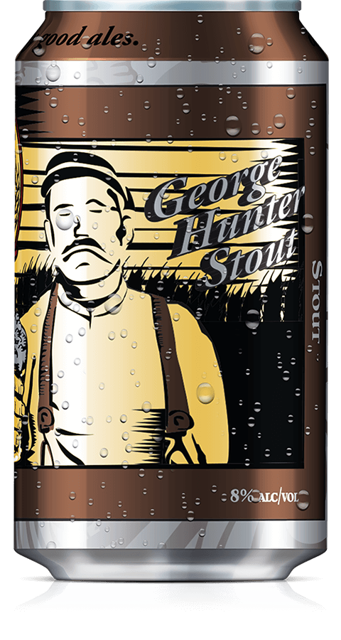 George Hunger Stout Can