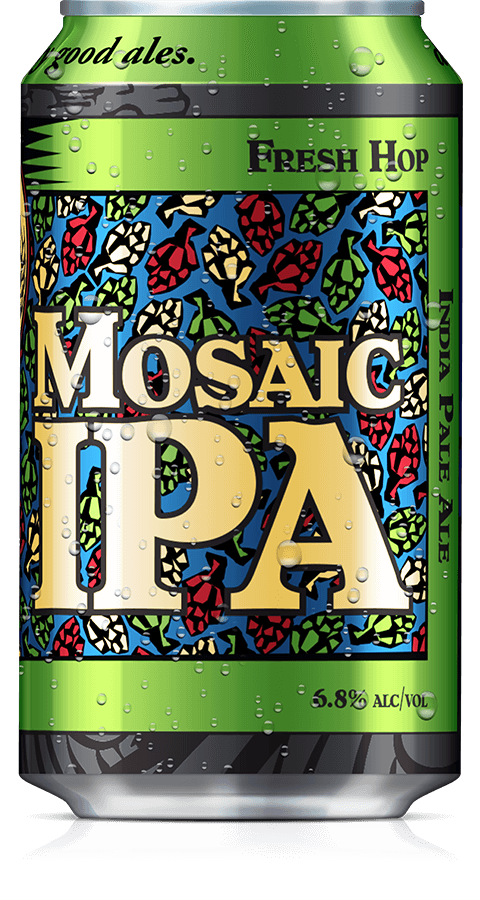Mosaic Fresh Hop Can