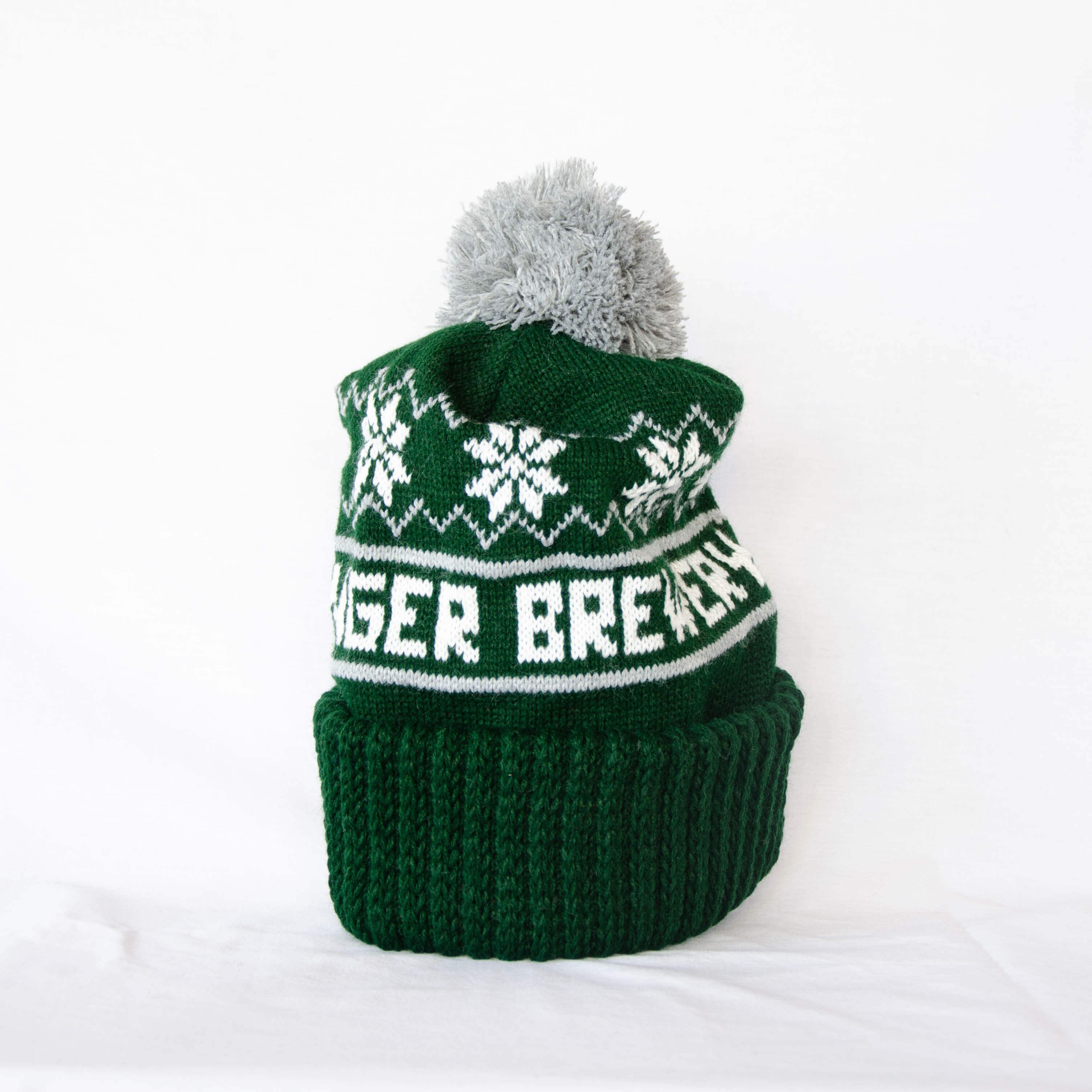 Green Winter Pom Beanie  825e9502cc6